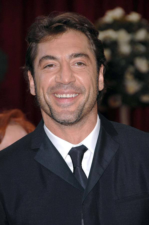 Part 2 - Red Carpet - 80th Annual Academy Awards Oscars Ceremony Photograph - Javier Bardem Wearing A Prada Suit by Everett