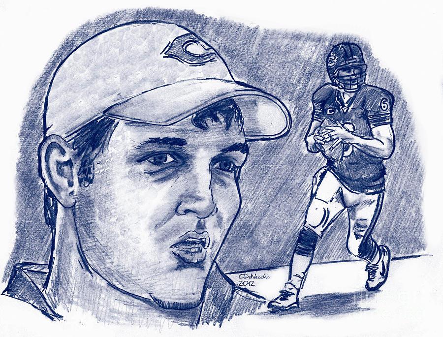 Jay Cutler Drawing