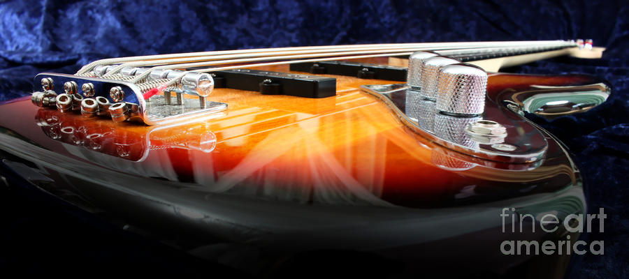 Jazz Bass Beauty Photograph  - Jazz Bass Beauty Fine Art Print