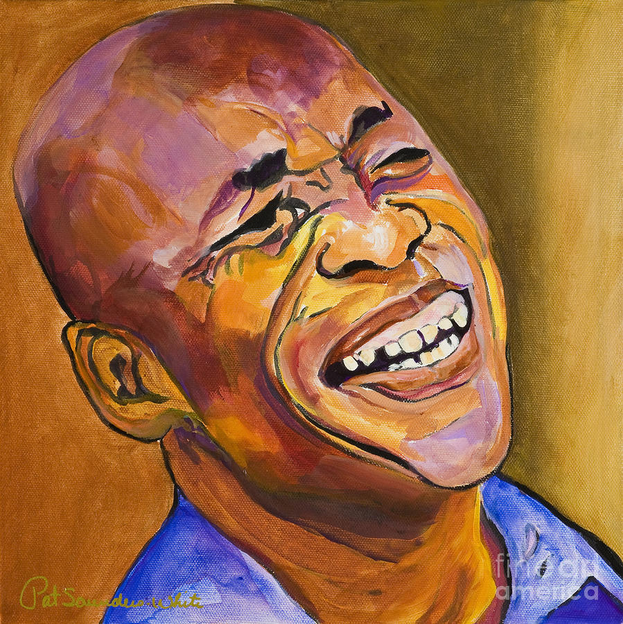 Jazz Man Painting