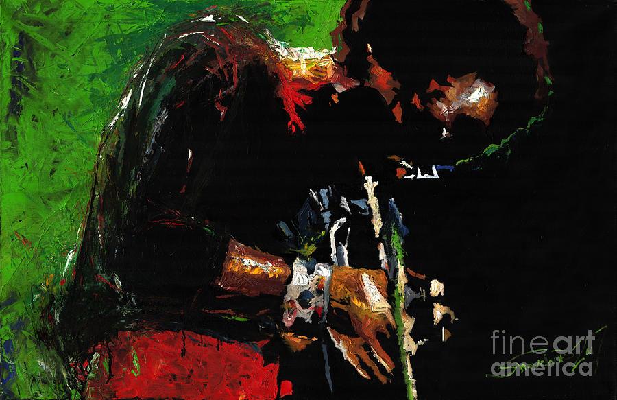 Jazz Miles Davis 1 Painting