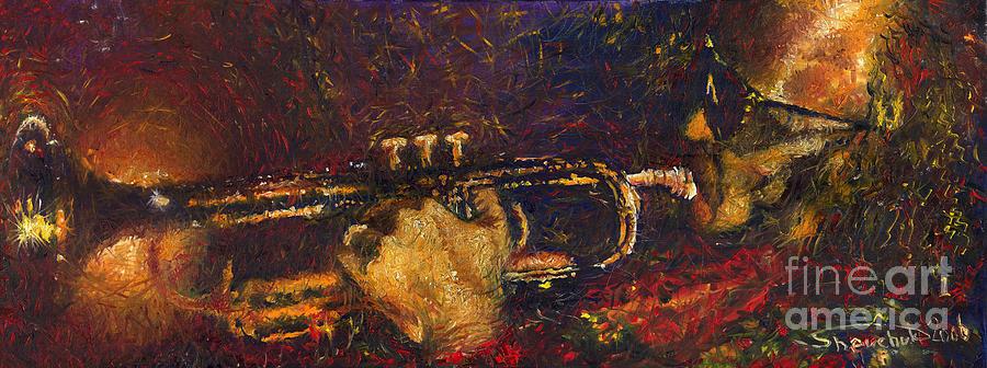 Jazz Miles Davis  Painting