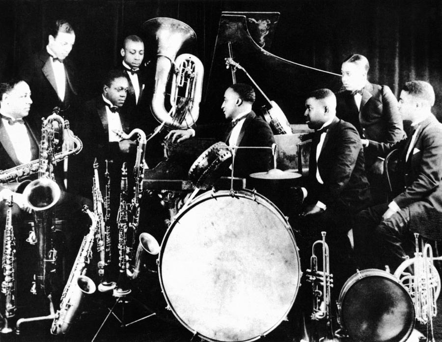 Roaring Twenties Jazz Jazz Musicians  C1925 by