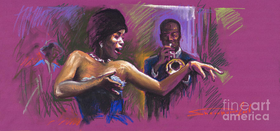 Jazz Song.2. Painting