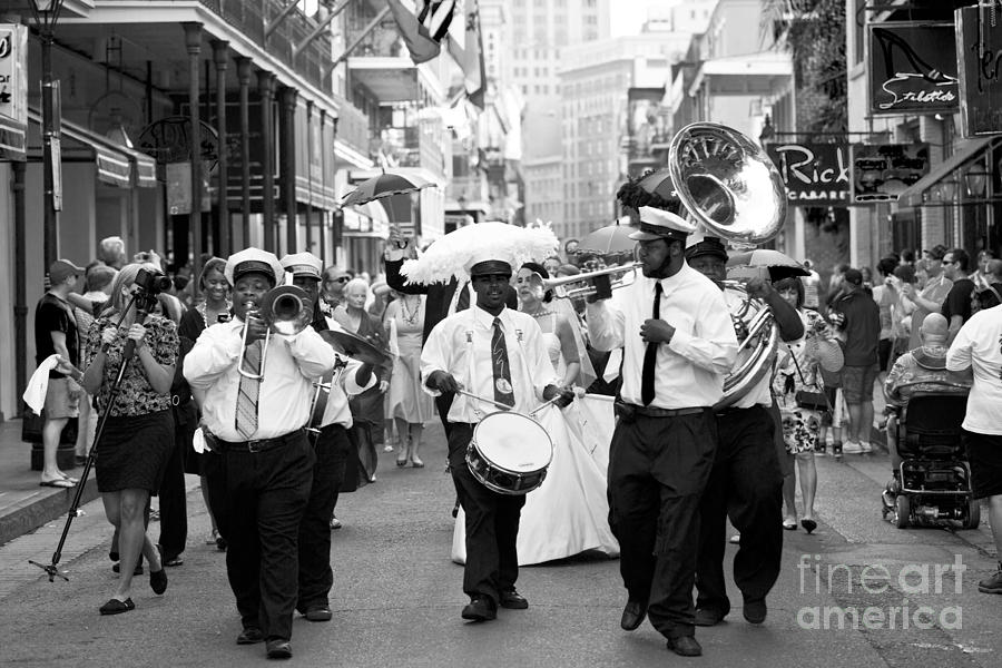 Jazz Wedding Photograph