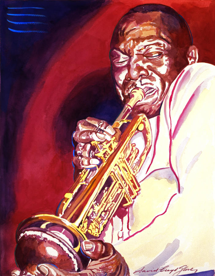 Jazzman Cootie Williams Painting