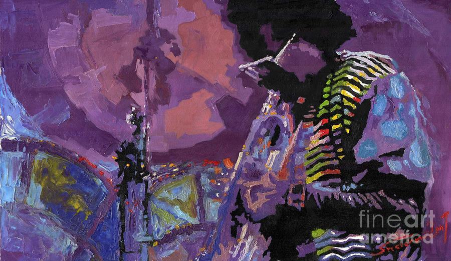 Jazz.miles Davis.4. Painting