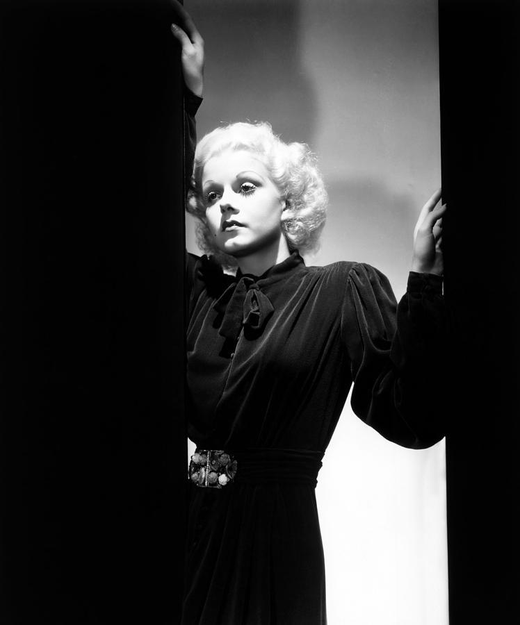 1930s Portraits Photograph - Jean Harlow, Ca. 1935 by Everett