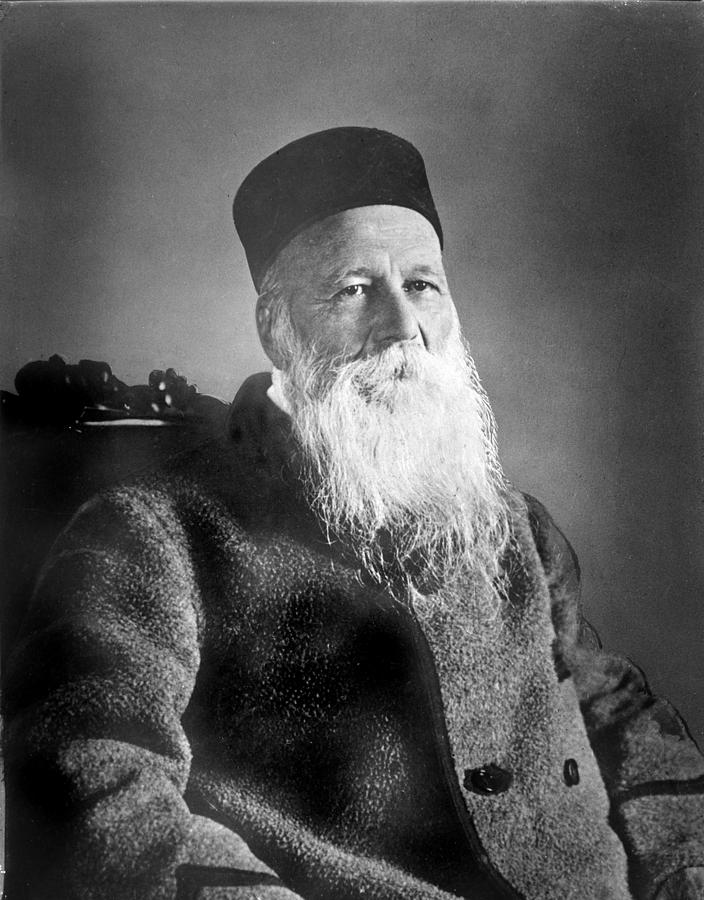 Jean Henri Dunant 1828-1910 Swiss Photograph