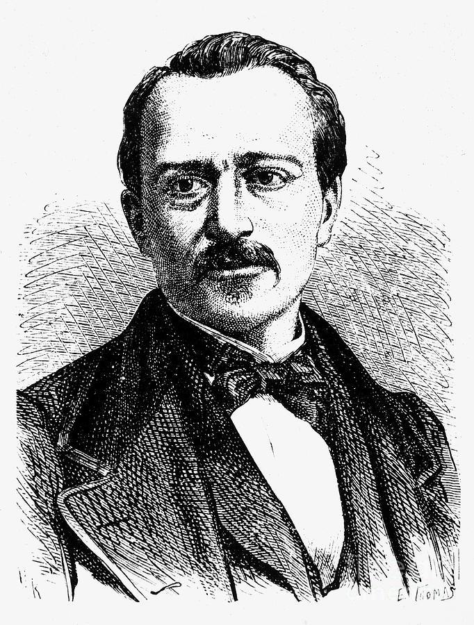 19th Century Photograph - Jean Joseph Etienne Lenoir by Granger