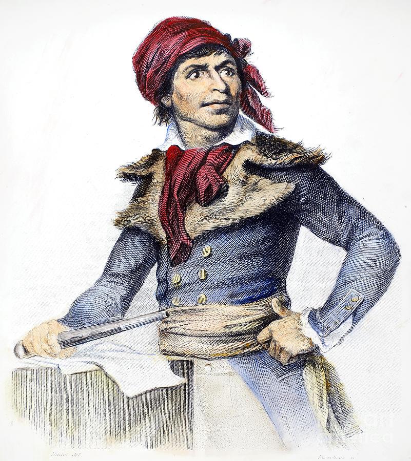 Jean-paul Marat (1743-1793) Photograph