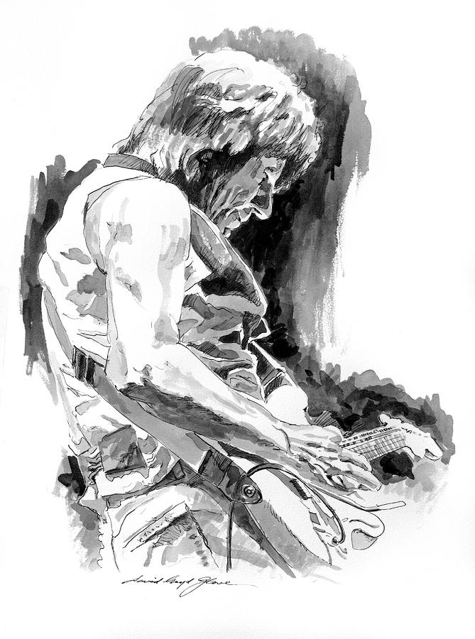 Jeff Beck In Concert Drawing