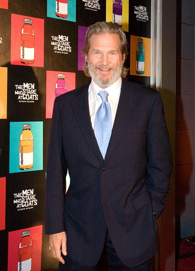 Jeff Bridges At Arrivals For The Men Photograph  - Jeff Bridges At Arrivals For The Men Fine Art Print