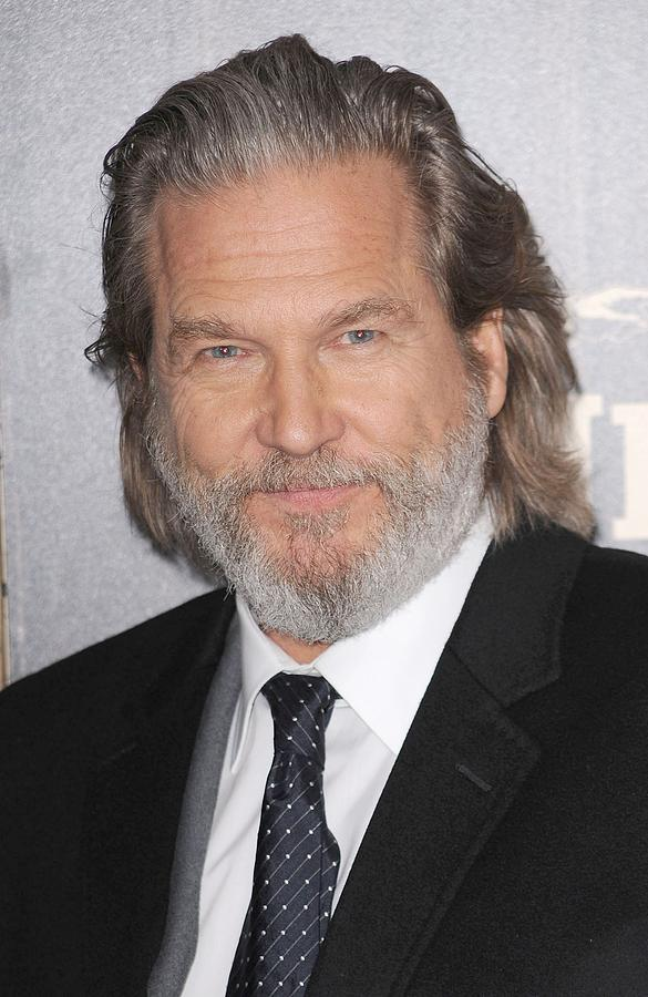 Jeff Bridges At Arrivals For True Grit Photograph