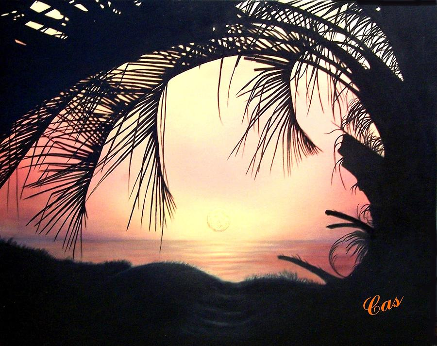 Jekyll Island Sunrise Painting