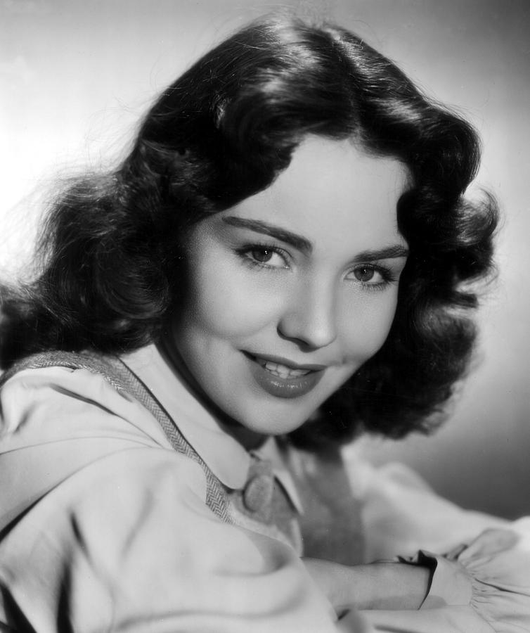 Jennifer Jones, 1945 Photograph  - Jennifer Jones, 1945 Fine Art Print