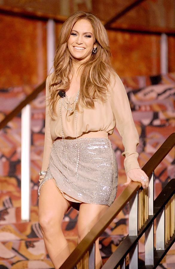 Jennifer Lopez Wearing A Haute Hippie Photograph