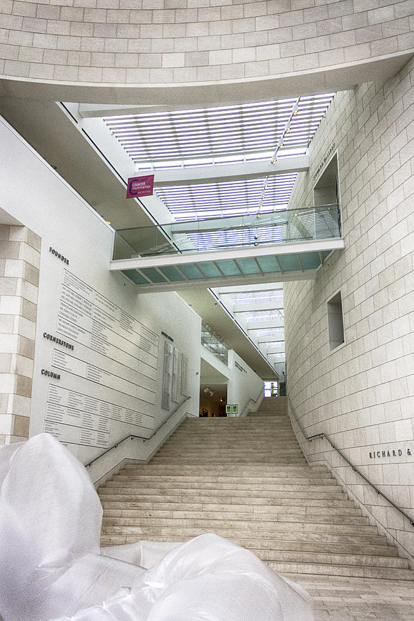 Jepson Center Grand Staircase Photograph  - Jepson Center Grand Staircase Fine Art Print