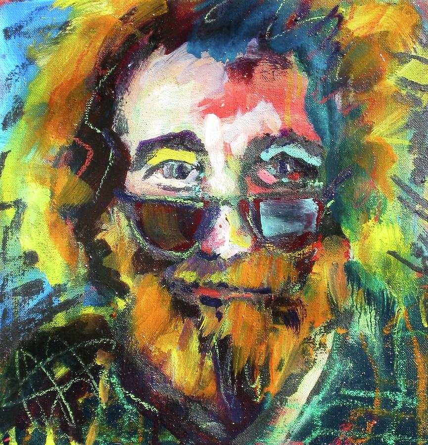 jerry garcia by les leffingwell
