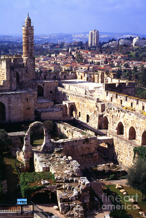 Jerusalem From The Tower Of David Museum Photograph