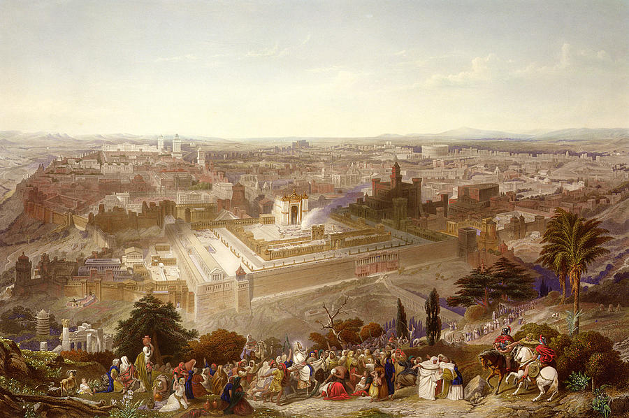 Jerusalem In Her Grandeur Painting
