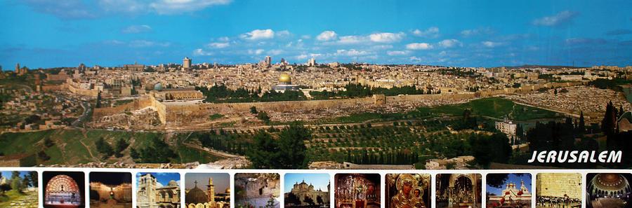 Poster Photograph - Jerusalem Poster by Munir Alawi