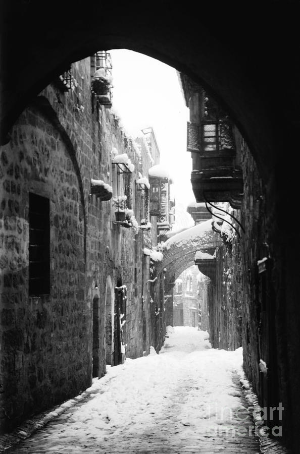 Jerusalem: Winter Painting