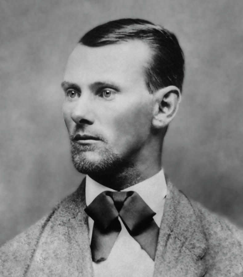 Jesse James -- American Outlaw Photograph