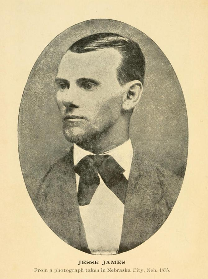 Jesse James 1847-1882 Photograph  - Jesse James 1847-1882 Fine Art Print