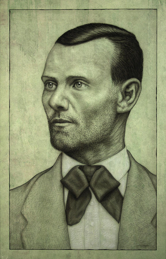 Jesse James Painting