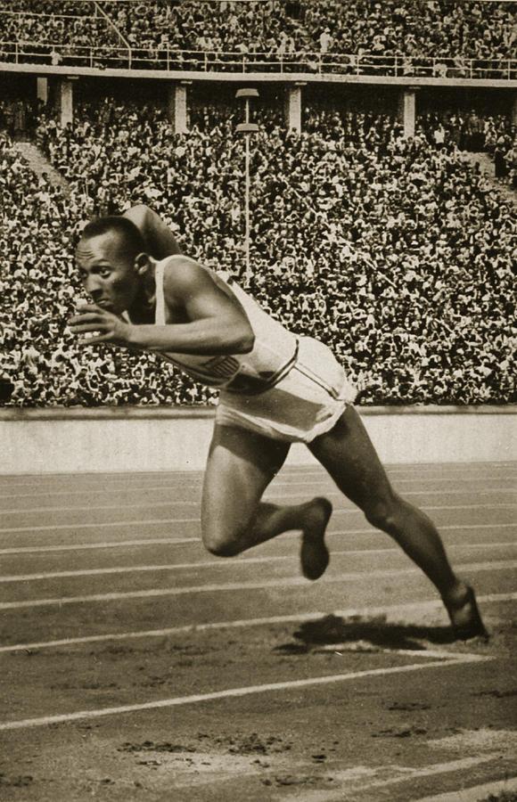 Jesse Owens Photograph