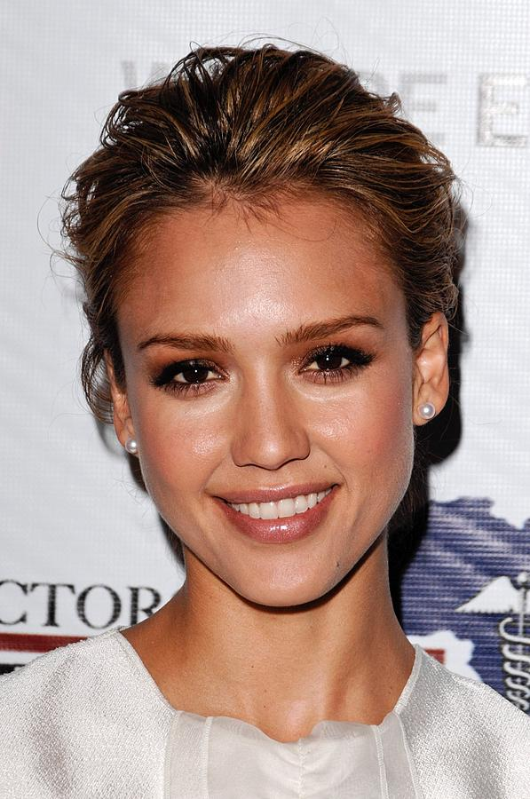 Jessica Alba At Arrivals For African Photograph  - Jessica Alba At Arrivals For African Fine Art Print