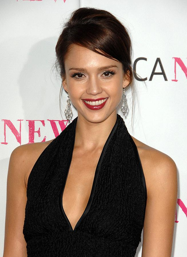 Jessica Alba At Arrivals For Moca 30th Photograph