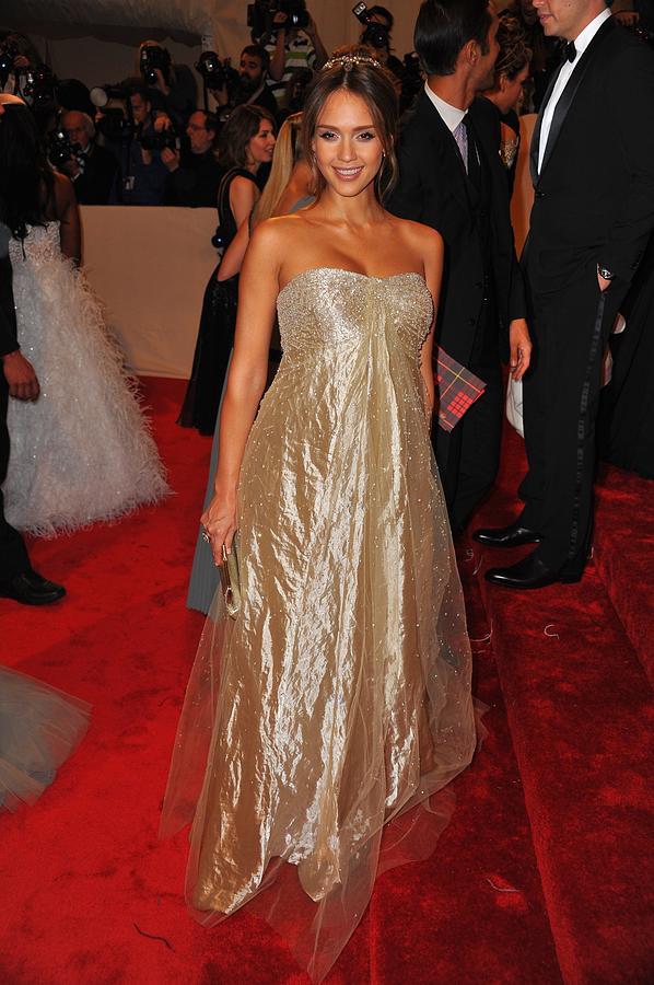 Jessica Alba Wearing Ralph Lauren Photograph