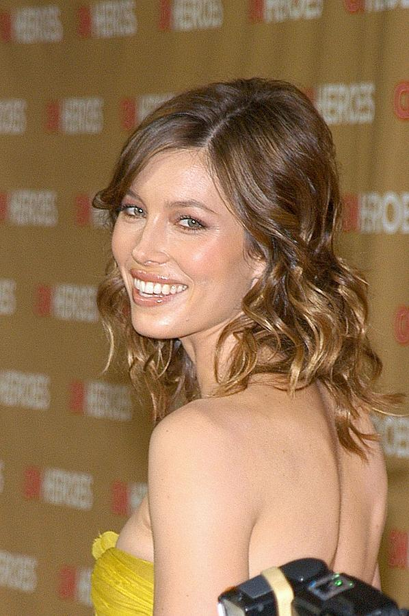 All-star Tribute Cnn Heroes Photograph - Jessica Biel At Arrivals For All-star by Everett
