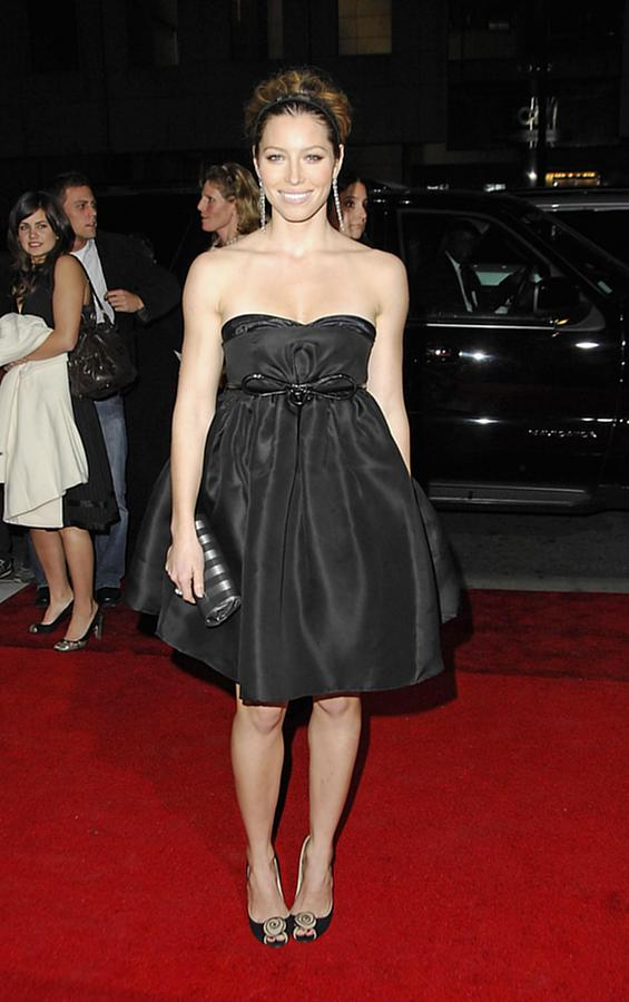 Auto Add Lbd Photograph - Jessica Biel At Arrivals For Home Of by Everett