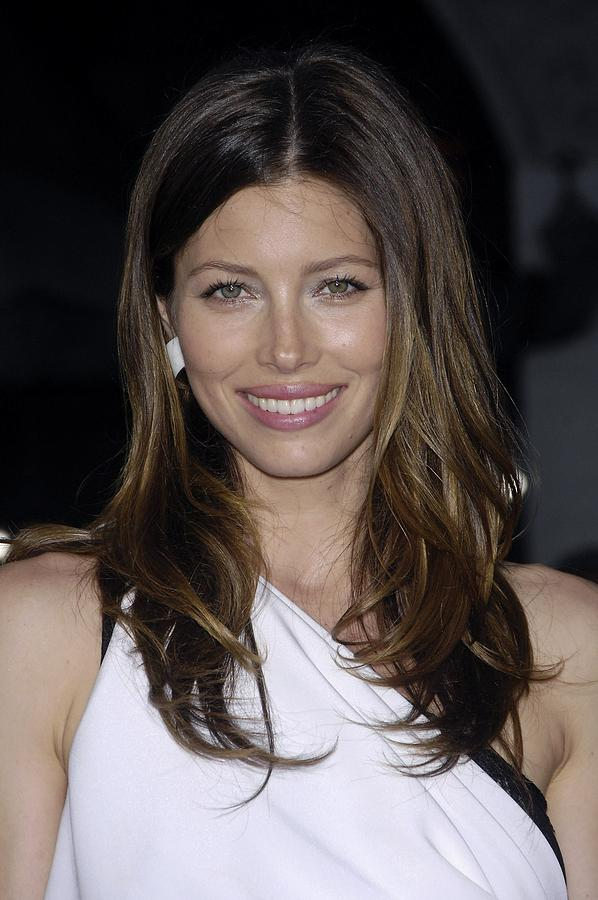 Jessica Biel At Arrivals For The A-team Photograph