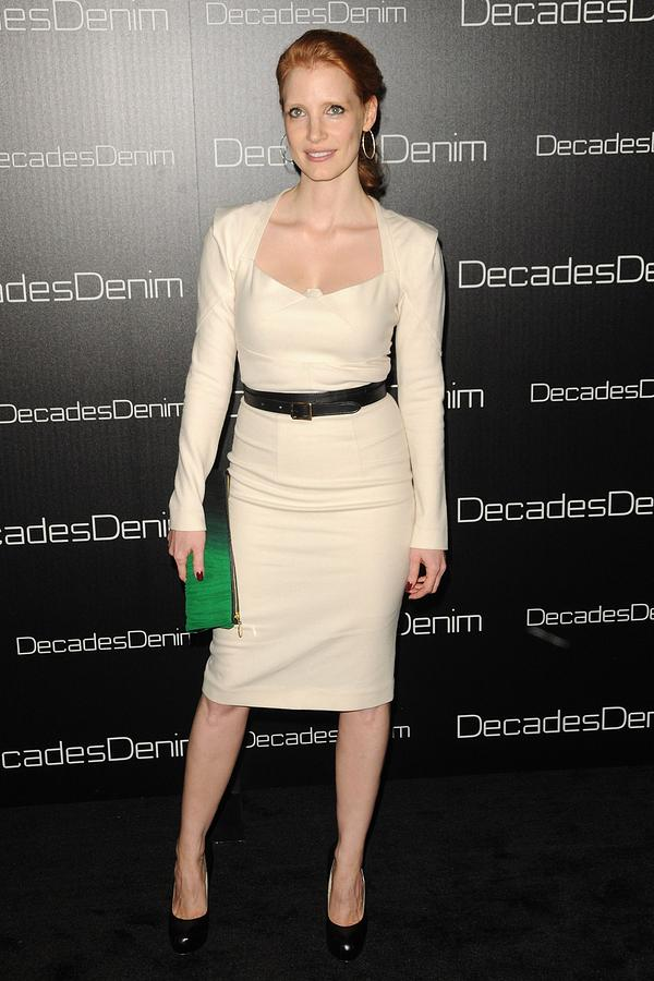 Jessica Chastain Photograph - Jessica Chastain At Arrivals by Everett