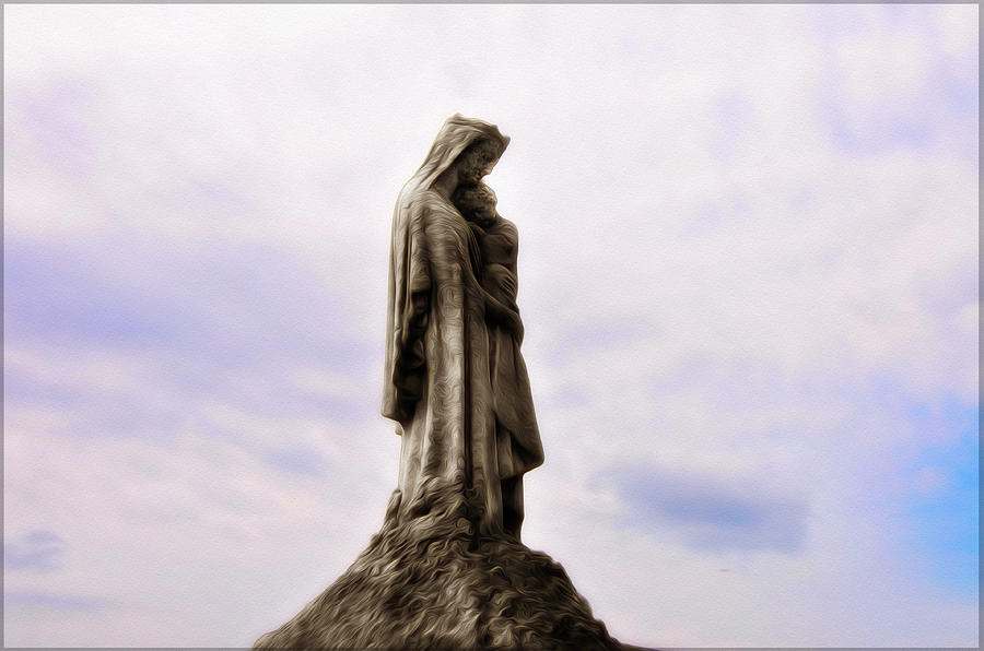 Jesus And Mary Photograph  - Jesus And Mary Fine Art Print