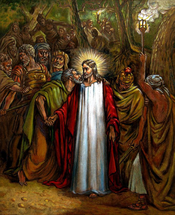 Jesus Betrayed Painting