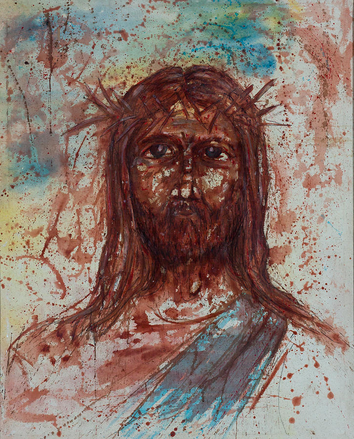 Jesus Christ Painting  - Jesus Christ Fine Art Print