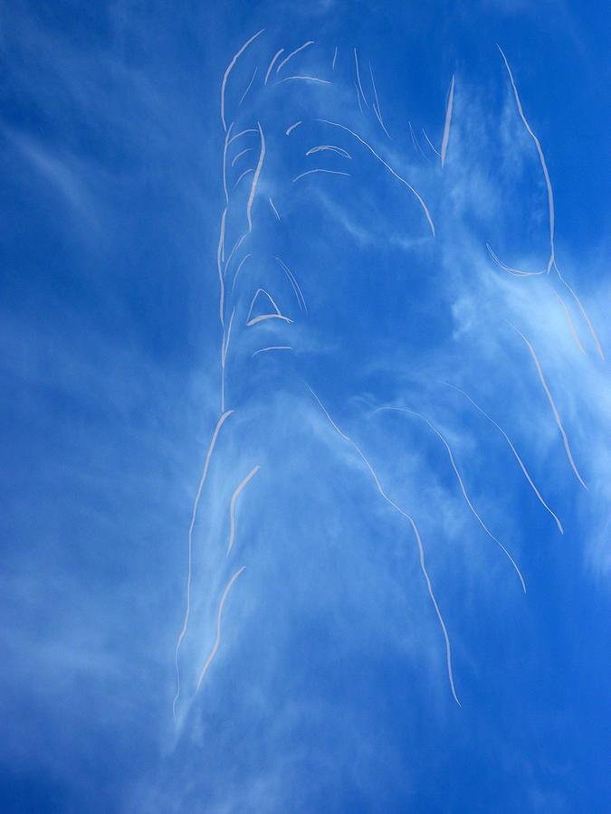 Jesus In The Clouds Photograph