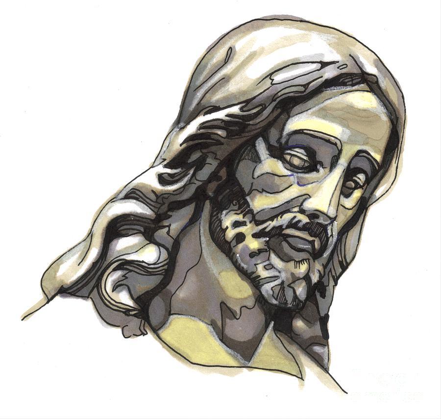 Jesus No 2 Painting