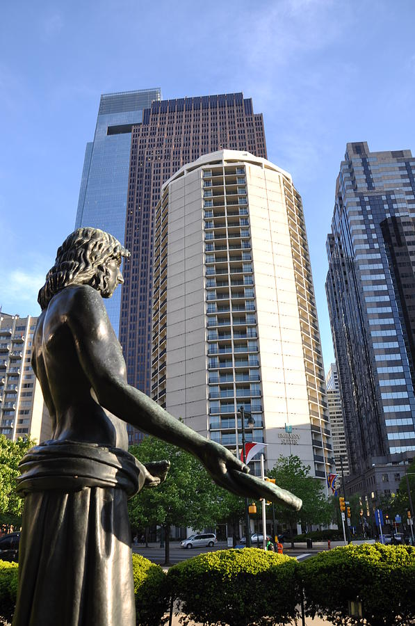 Jesus Of Philadelphia Photograph - Jesus Of Philadelphia by Bill Cannon
