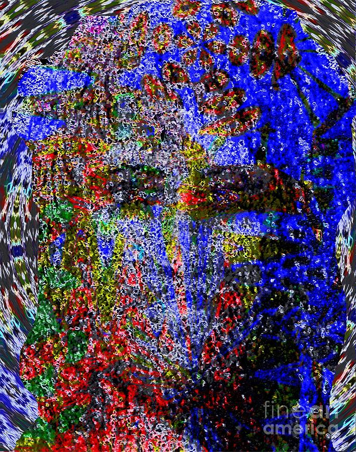 Jesus Pop Super Painting  - Jesus Pop Super Fine Art Print
