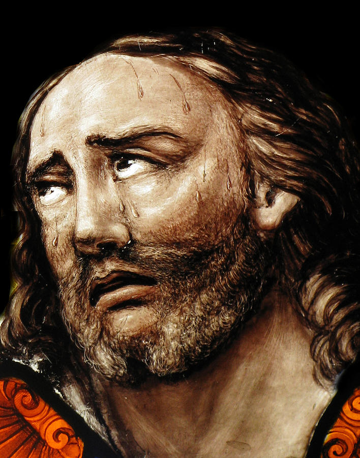 Jesus Tears Photograph