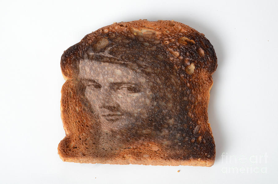 Jesus Toast Photograph