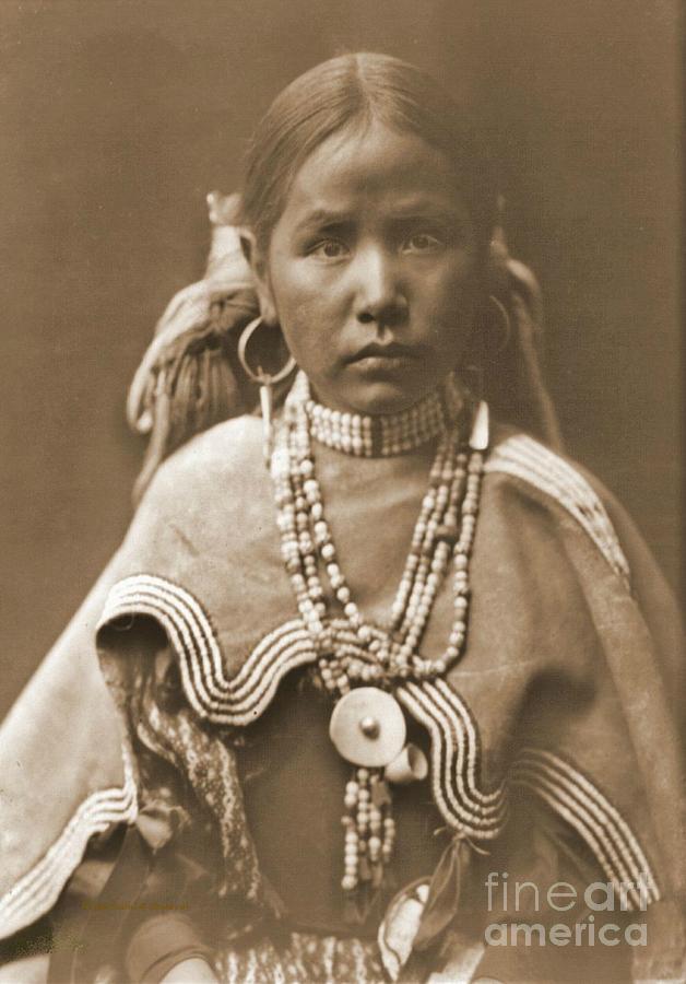 Jicarilla Maiden Photograph