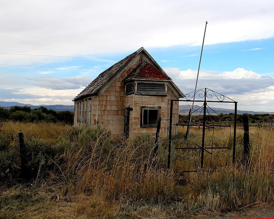 Jiggs One Room Schoolhouse Photograph