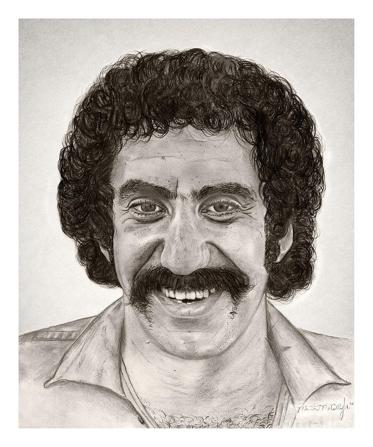 Jim Croce Drawing By Mark Mac
